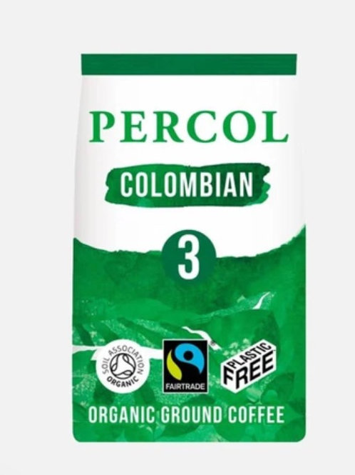 Fair Trade Organic Medium Strength Colombian Ground Coffee (200g)