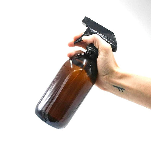 500ml Refill Glass Sirop Trigger Spray Bottle  (Various Options)