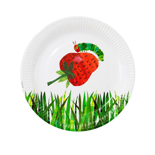 The Very Hungry Caterpillar Paper Plates (12pk)
