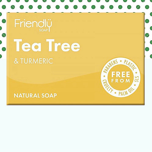 Friendly Antibacterial Tea Tree & Turmeric Hand & Body Soap