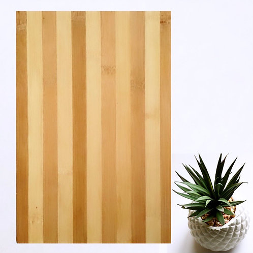 Striped Bamboo Chopping Board