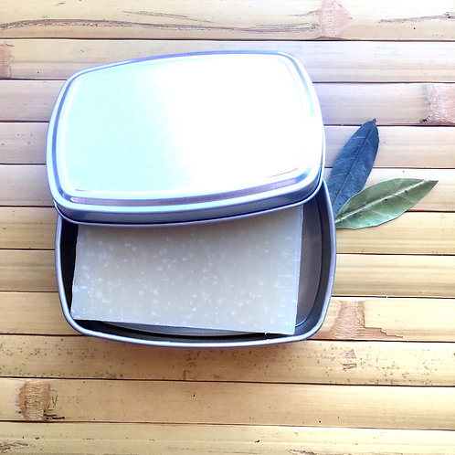 Travel Soap Tin - Aluminium