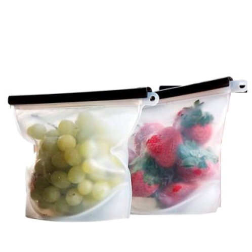 Reusable Silicone Zip Lock Food Bags & Silicone Bowl Covers (12 Pack)
