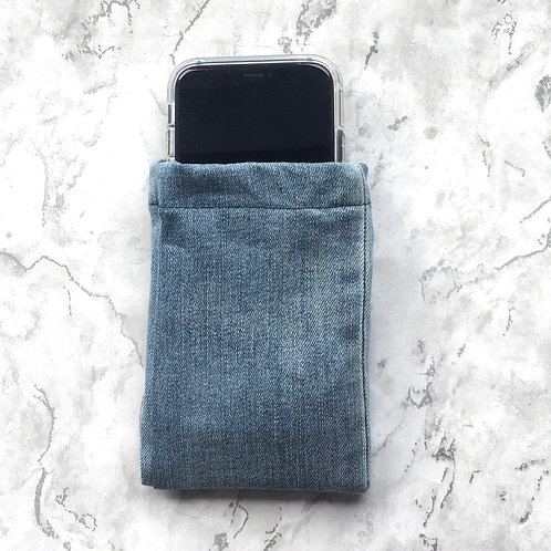 Repurposed Denim Phone Pocket