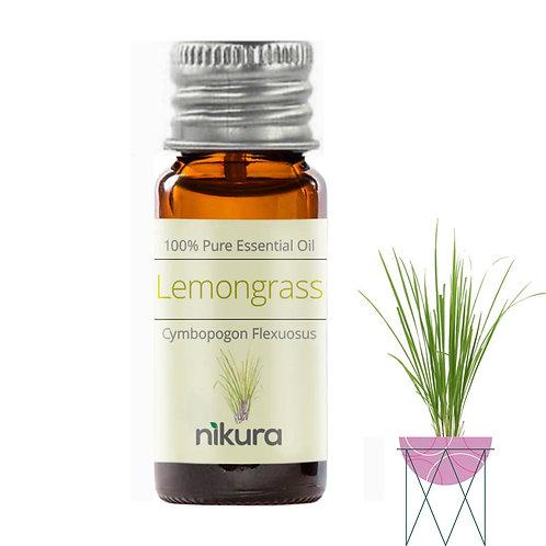 Pure Lemongrass Essential Oil (10ml)