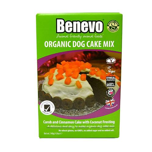 Benevo Organic Carob & Cinnamon Dog Cake Mix 140g