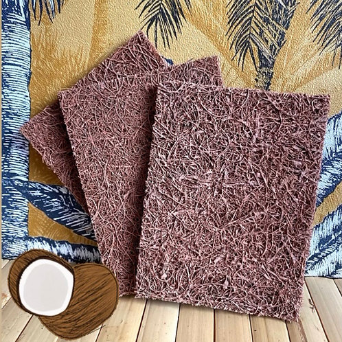 Natural Coconut Fibre Scouring Pads (Pack of 5)