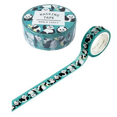 Traditional Japanese Panda Washi Tape