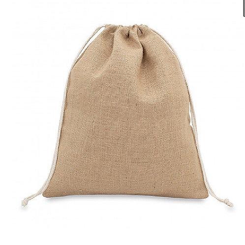 Reusable Natural Jute Medium Gift Bag
