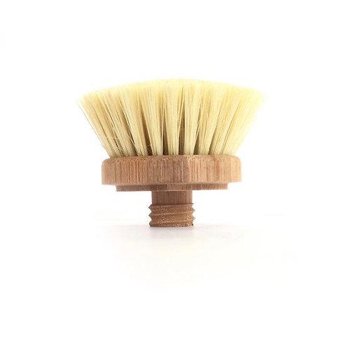 Bamboo Replacement Plastic Free Dish Brush Head