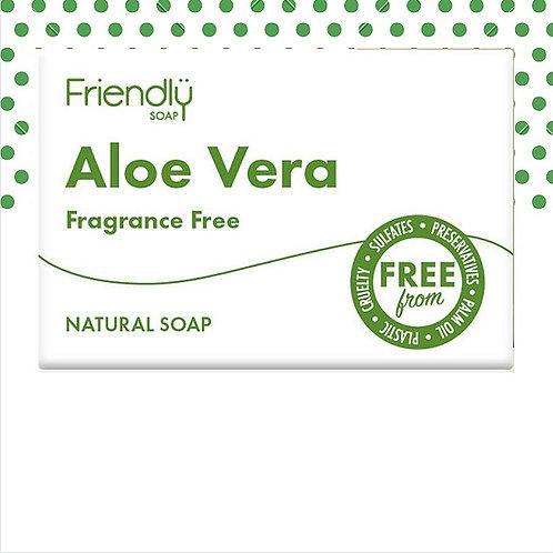 Friendly Vegan Aloe Vera Face and Body Soap