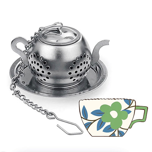 Mini Stainless Steel Tea Cup Infuser