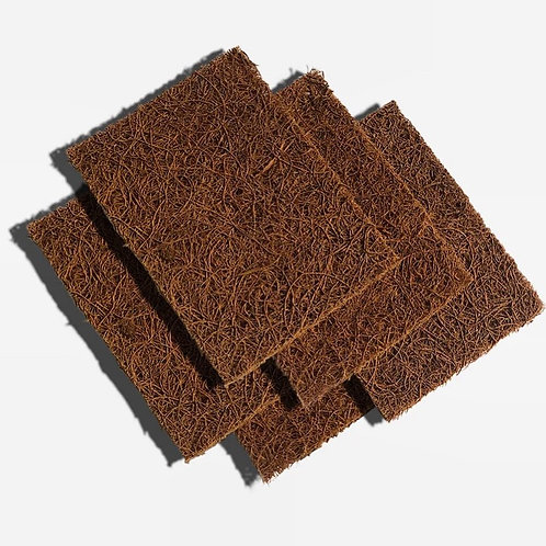 Coconut Fibre Scouring Pads (Pack of 5)