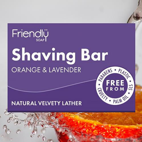 Orange & Lavender Shaving Bar