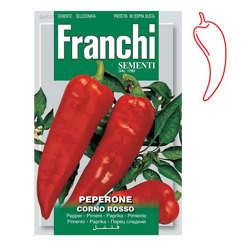 (Sow: Feb - June) Italian Corno Di Toro Sweet Pepper (2.5gm)