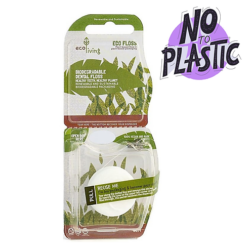 Plant Based, Plastic Free Dental Floss (1 Pack)