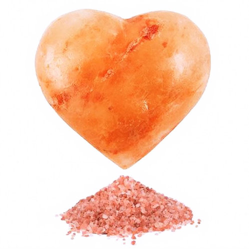 Himalayan Salt Heart Deodorant Bar