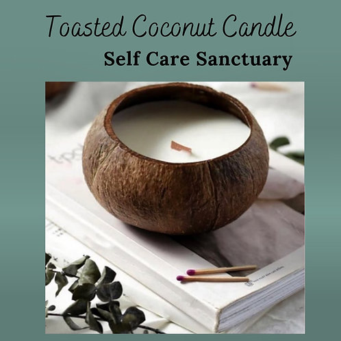 Vegan Toasted Coconut Candle