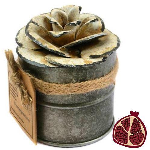 Fair Trade Vegan Pomegranate Candle