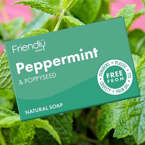 Peppermint & Poppyseed Soap