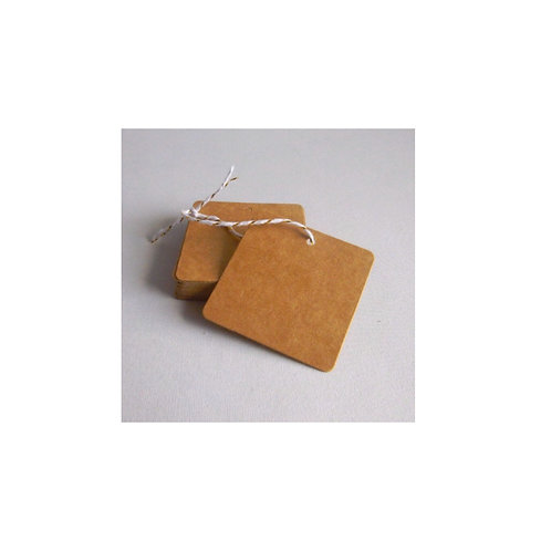 Kraft Card Gift Tags (10pk)