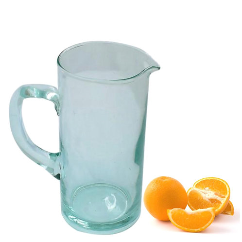 Fair Trade - 100% Recycled - Tall Glass Jug