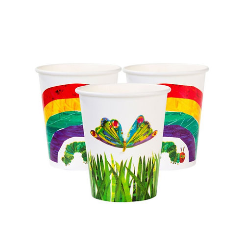 The Very Hungry Caterpillar Paper Cups (12pk)