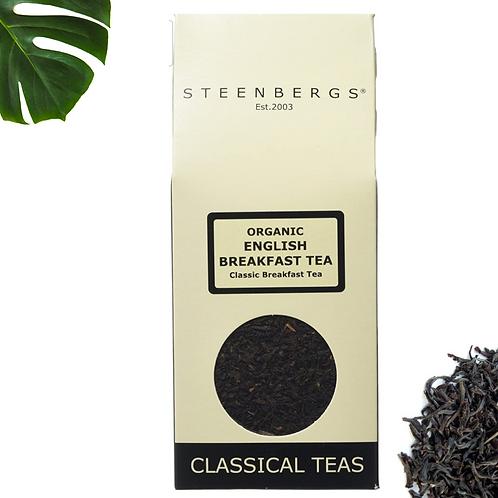 Organic English Breakfast Loose Leaf Tea 100g