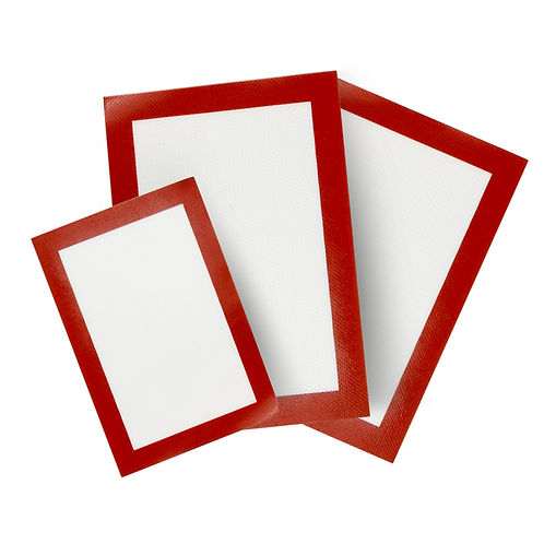 Food Grade Silicone Baking Mats (Pack of 3)