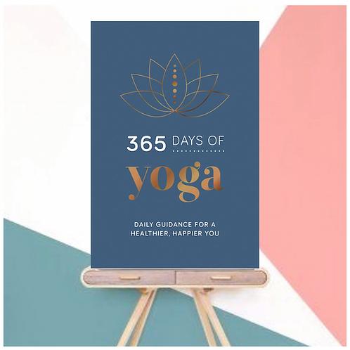 375 Days of Yoga (Hardback)