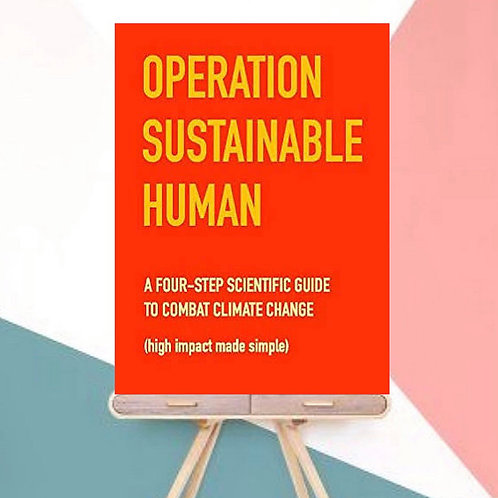 Operation Sustainable Human (Paperback)