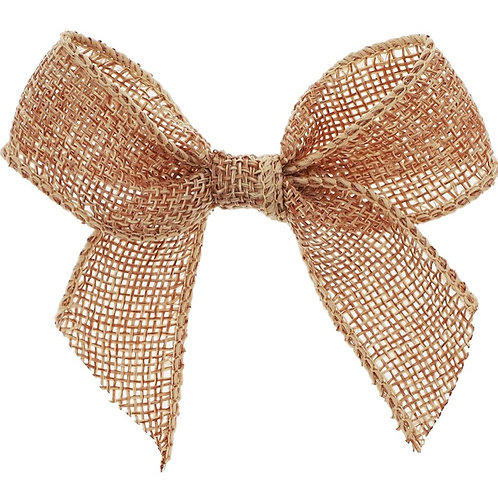 Reusable Natural Hessian Bows (Pack of 5)