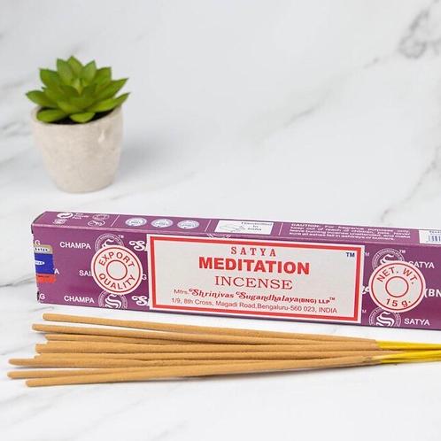 Meditation/Yoga - Satya Incense Sticks 15g