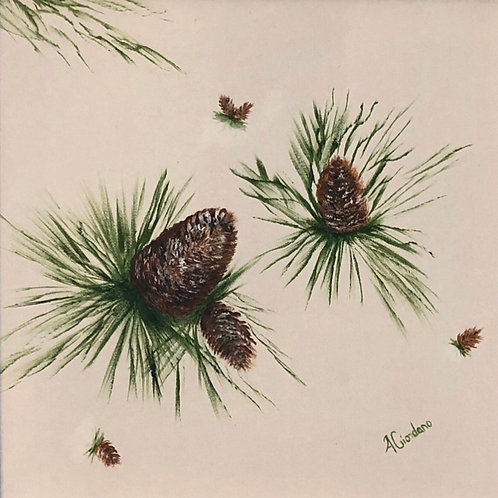 Pine Cones & Needles