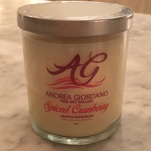 AGFineArt Gallery Holiday Candle (Clearance)