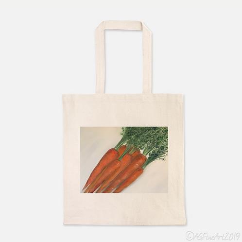 Carrots Heavy Duty Canvas Shopping Tote