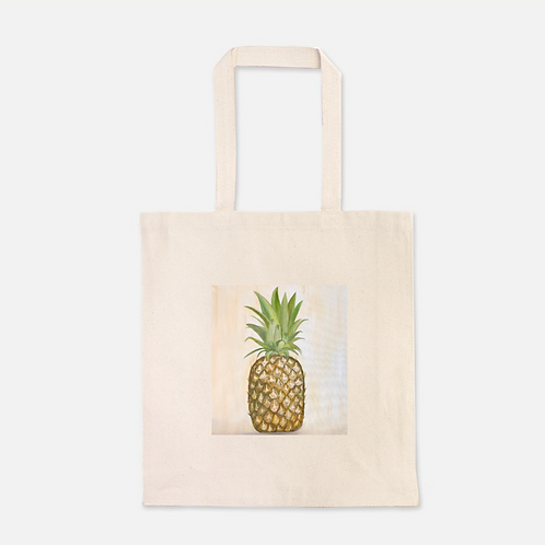 Pineapple Heavy Duty Canvas Shopping Tote