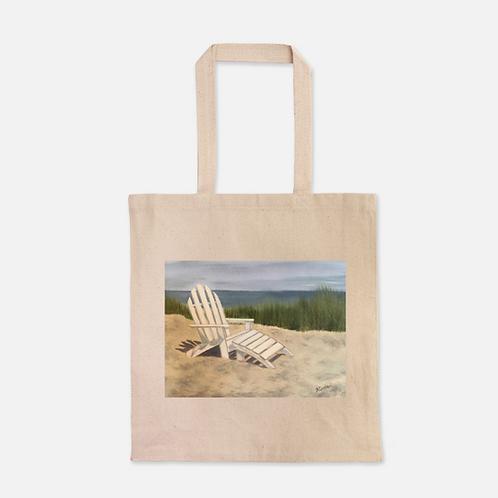 Beach Chair Heavy Duty Canvas Shopping Tote