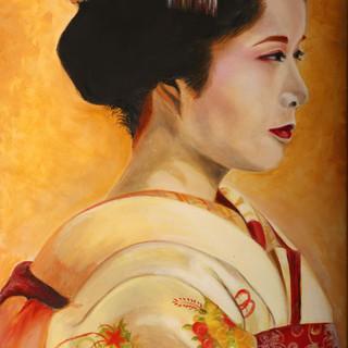 Golden Geisha By Marcia Sangillo