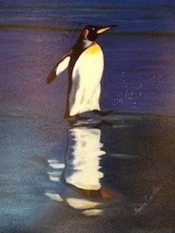 Wading Penguin