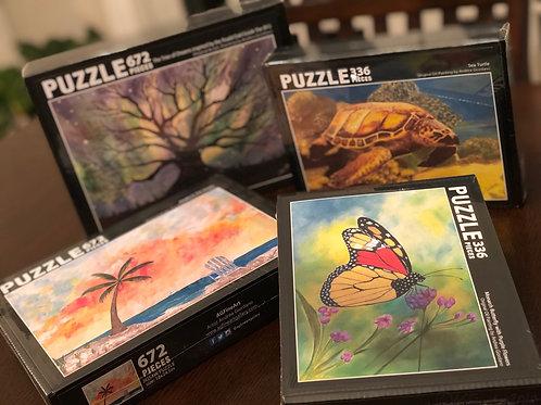 Jigsaw Puzzle 672 pc