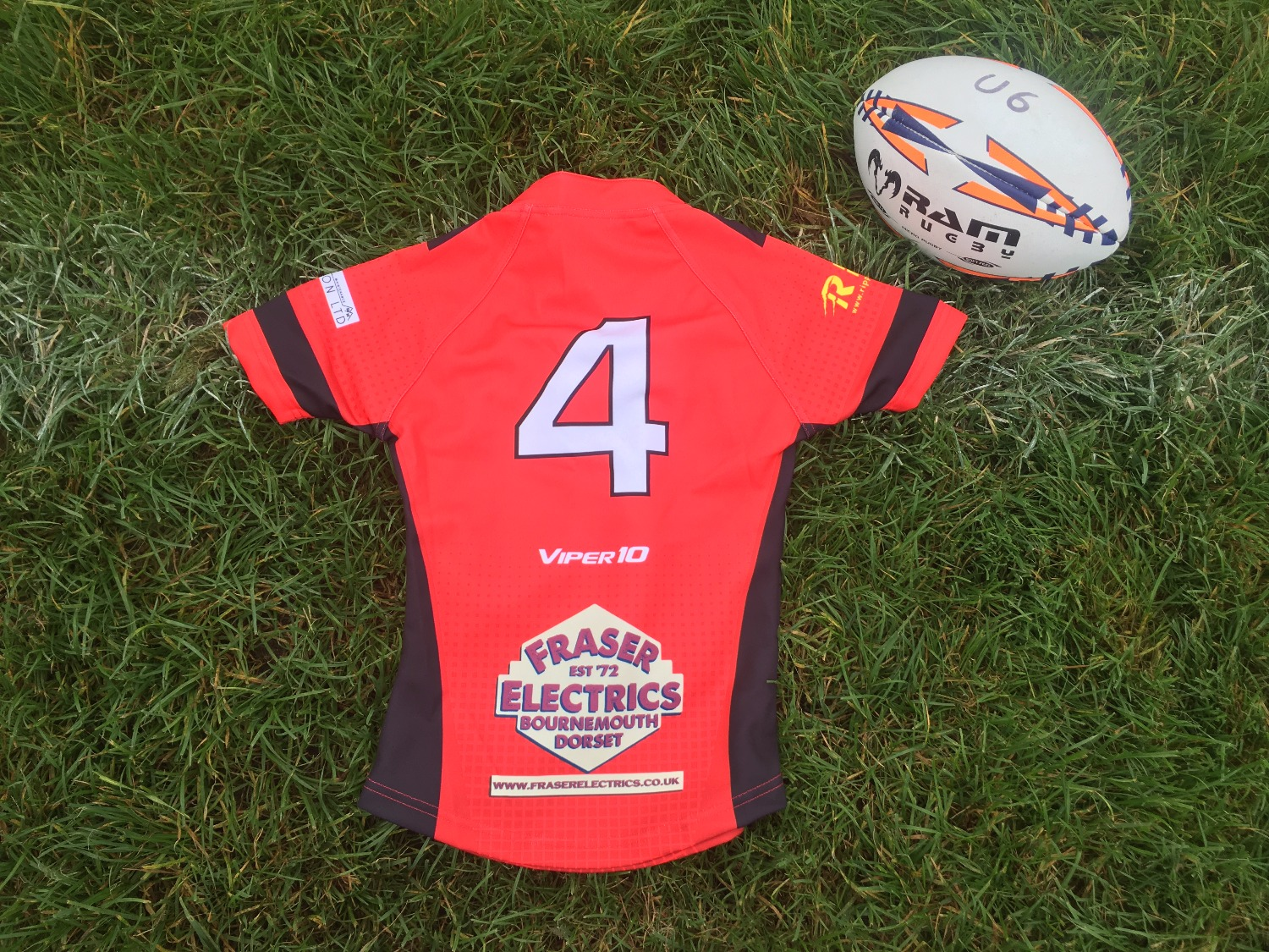 Bournemouth RFC U6 shirt