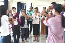 Teacher-led tool share in workshop