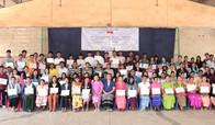 Closing ceremony appreciating MLC teachers