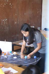 TeacherFOCUS trainer preparing science lesson
