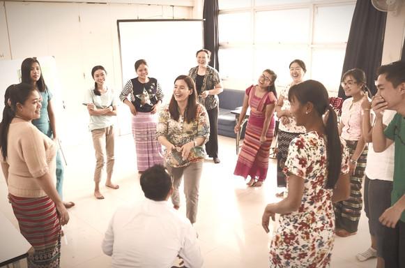 Activity in TeacherFOCUS workshop for early childhood education