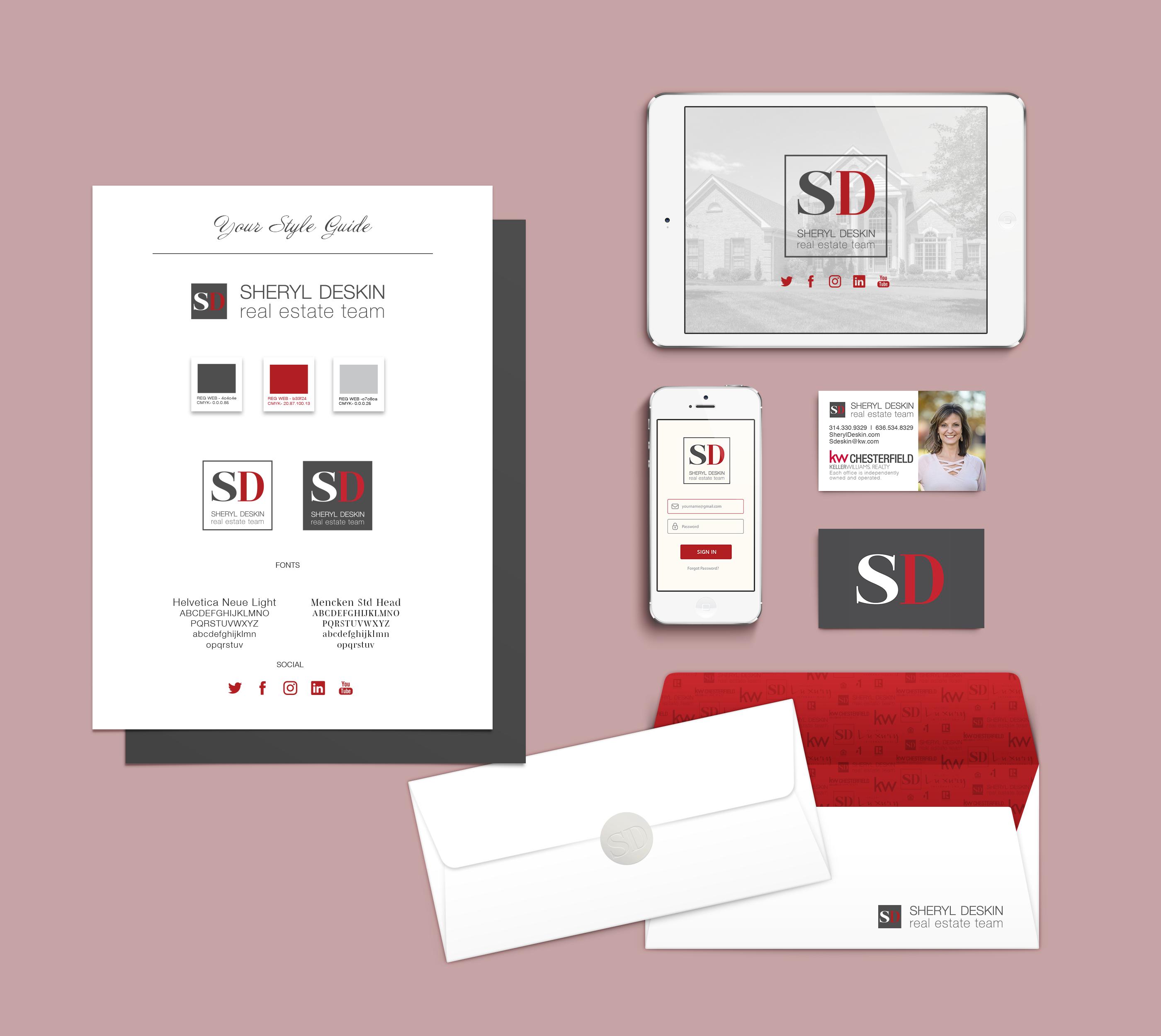 Branding Identity Mock-sheryldeskinpink.