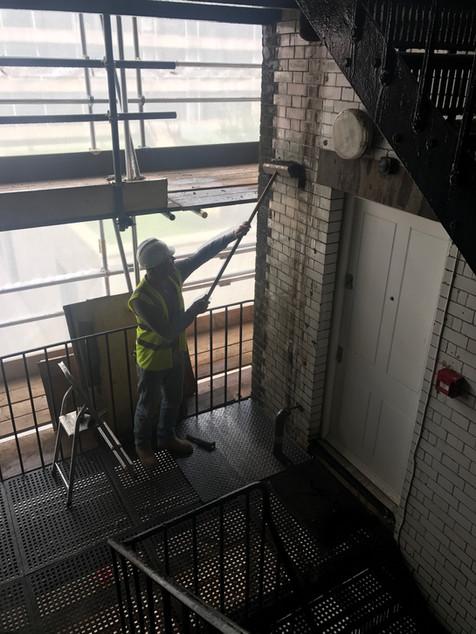 Davies Street Brickwork Staining.JPG