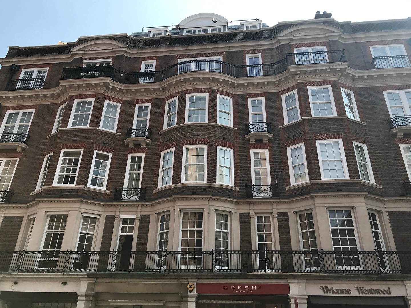 Davies Street Front Elevation Completed