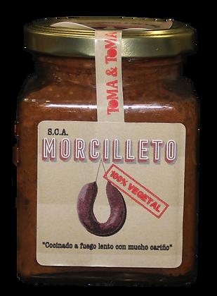 MORCILLETO   Blood sausage Vegetable